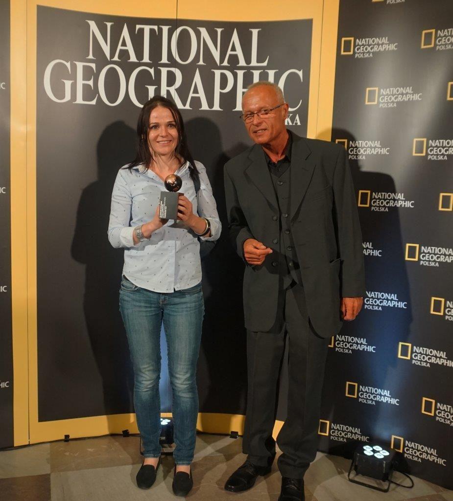 dr Gerard Gierliński oraz dr Zofia Dubicka