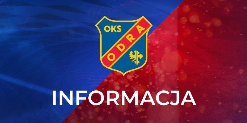 Odra Opole - informacja