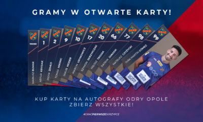 KARTY NA AUTOGRAFY