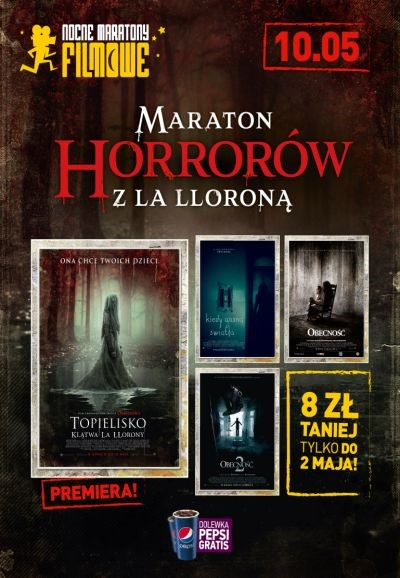 Maraton Horrorów z La Lloroną