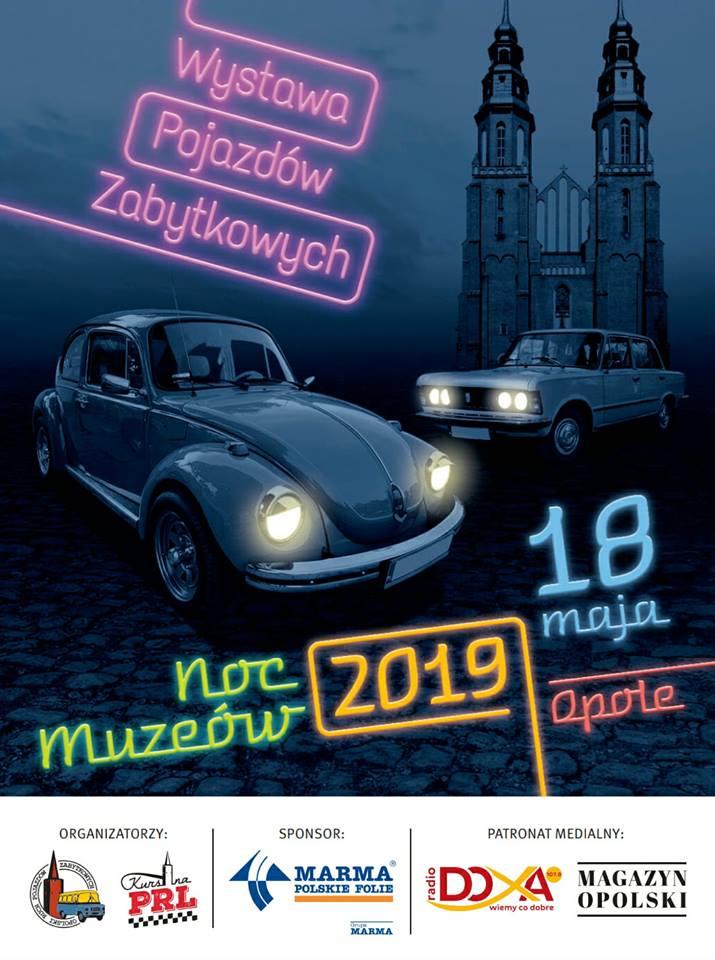 Wystawa Pojazdów Zabytkowych - Noc Muzeów 2019