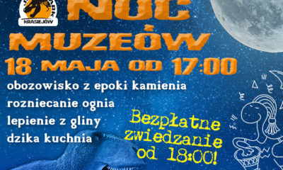 Noc Muzeów w Parku Nauki i Rozrywki w Krasiejowie