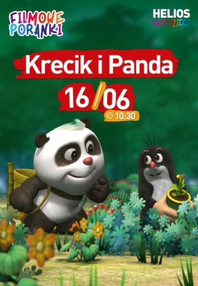 Filmowe Poranki Krecik i Panda