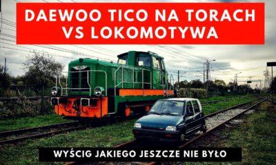 Wyścig Daewoo Tico na torach vs Lokomotywa Fablok