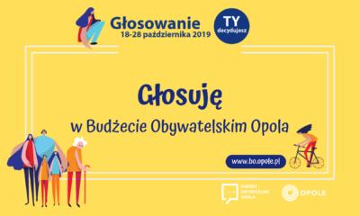 Głosowanie w Budżecie Obywatelskim Opola