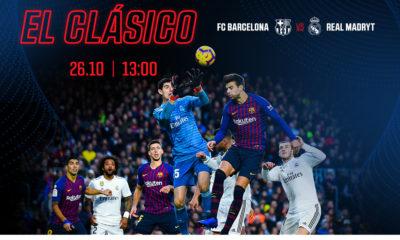 El Clasico. FC Barcelona - Real Madryt