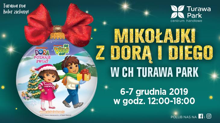 Mikołajki w CH Turawa Park z Dora i Diego