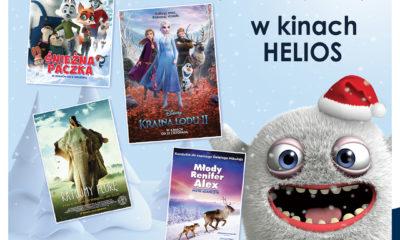 Mikołajki w kinach Helios