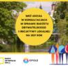 konsultujemy zmiany w Budżecie Obywatelskim Opola i Inicjatywie Lokalnej