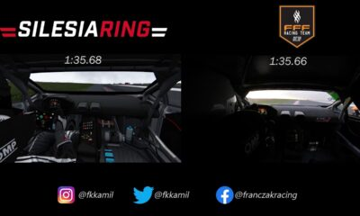 Real vs Virtual-Lamborghini Huracan Super Trofeo-Silesia Ring-Kamil Franczak