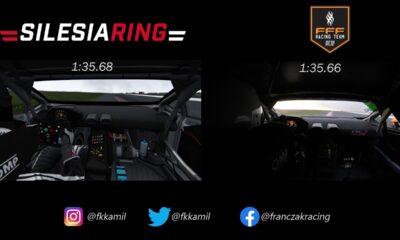 Real vs Virtual-Lamborghini Huracan Super Trofeo-Silesia Ring-Kamil Franczak